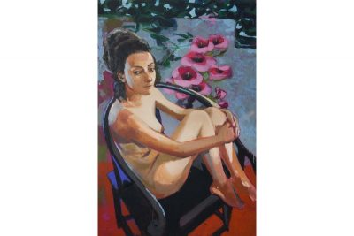 Nude In Chinese Chair