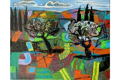 A Couple of Olive Trees