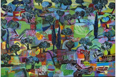 Landscape With Olives