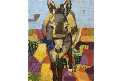 Palestinian Donkey 09