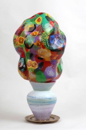 Cloud flower vase