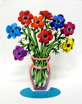 New poppies vase