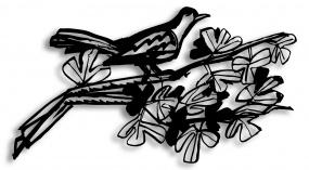 Bird On A Branch 02