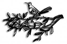 Bird On A Branch 01