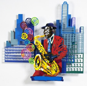 Jazz and the city – saxophonist