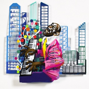 Jazz and the city – pianist