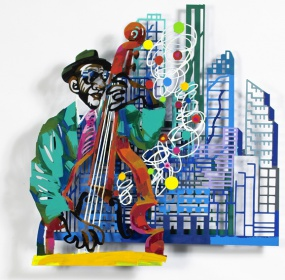Jazz and the city – contrabass