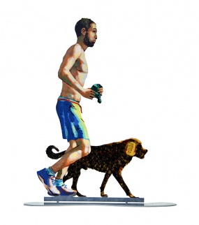 Jogger With Dog – 20