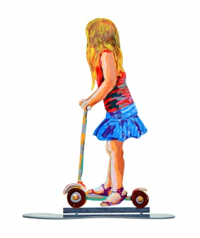 Girl On Scooter – 23