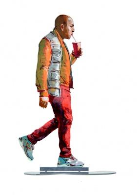 Walker With Orange Juice – 29