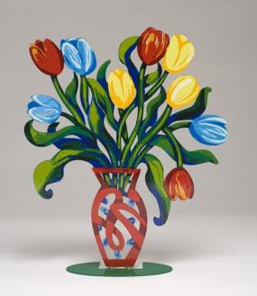Tulips vase