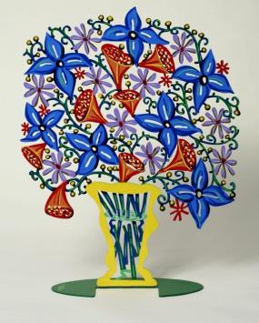 Bell flowers vase