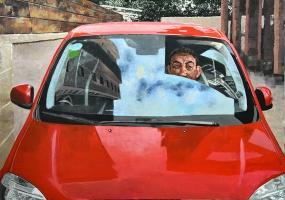 Vladimir In The Car