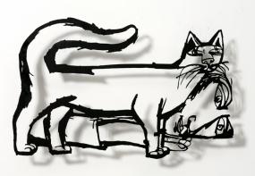 Cat and sleeper 02